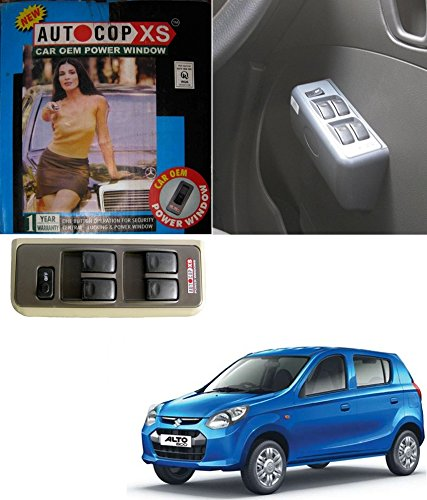 autocop 4 door power window for maruti alto 800 with automatic roll up relay - by carsaaz Autocop 4 Door Power Window for Maruti Alto 800 with automatic roll up relay – By Carsaaz 51c4tuejfVL