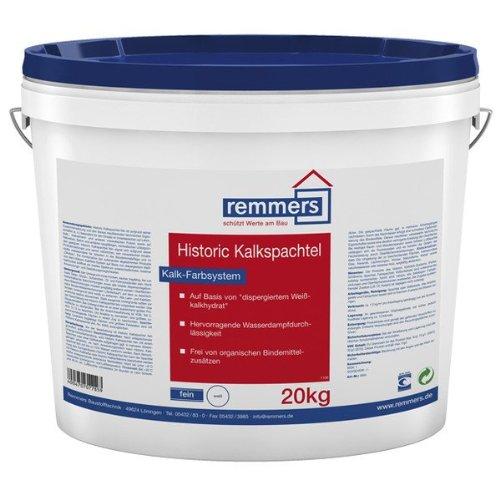 Remmers Historic Kalkspachtel fein, 20kg