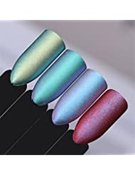 Born Pretty 1g Chameleon Unicorn Nail Powder Mirror Matte Effect Chrome Manicure Nail Art Powder #1