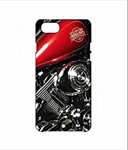 Nimbu Mirchi Designs Hard plastic premium Case matte Finish davidson engine Iphone 7 (Multicolour)