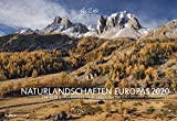 Naturlandschaften Europas 2020 - Bildkalender quer (50 x 34) - Landschaftskalender - Natur - Wandkalender: by Tobias Richter