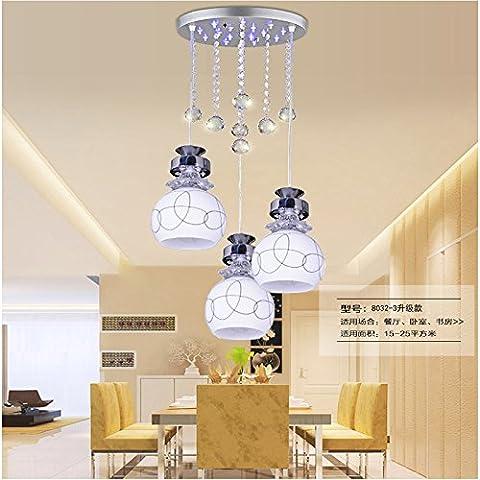 Fondata moderno minimalista lampadari luci led ristorante