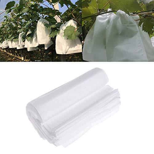 ROKF Weintraubenbeutel, Obstschutzbeutel, 100 Stück/Set, Vliesstoff, Garten-Obstschutzbeutel, Insektenschutz, Vogelschutzbeutel, zum Schutz von Äpfeln, Tomaten etc. (Tomate-schutz)