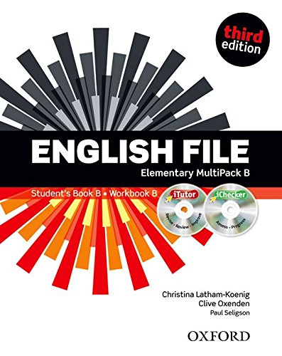 English File third edition: English file digital. Elementary. Part B. Student's book-Workbook-iTutor-iChecker. With keys. Per le Scuole superiori. Con espansione online