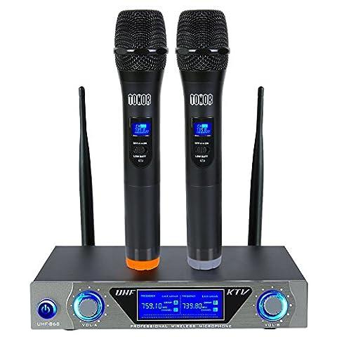 Microphone sans Fil de Système VHF Portable Micro à Main