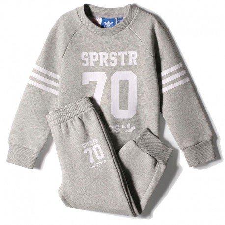 Adidas - Survêtement - I Crewpants-LE - Mixte Enfant