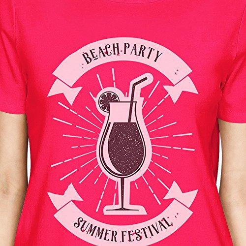 365 Printing -  Canotta  - Maniche corte  - Donna Beach Party Summer Festival