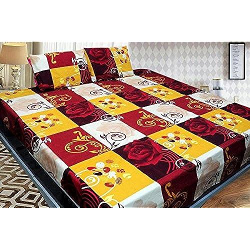 sheets priyoshop cotton size set sheet com bed king online