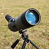 SSEA Spotting Scope Standard 25-75X 70 Zoom with Tripod Stand widely Used for archary, Wildlife Scoring Target Some Astronomy