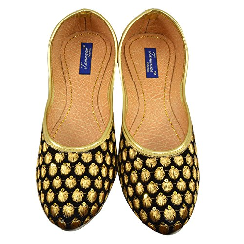 Tamanna Star Bellies Gold Juti For Girls, bellies for girls, girls bellies, bellies for women, women bellies, women footwear, juti for girls,footwear for women, chappals for women, casual bellies, bellies for girls, women's bellies, girl bellies, heels for girls, woman footwear, bellies girls, casual bellies for women, woman bellies, chapal for women, bellies women, sandal for girls  available at amazon for Rs.329