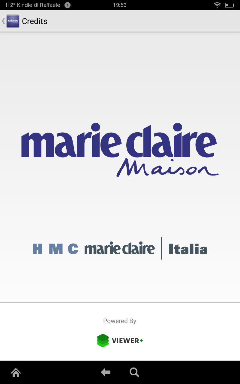 Marie claire maison italia apps f r android for Hearst magazines italia stage