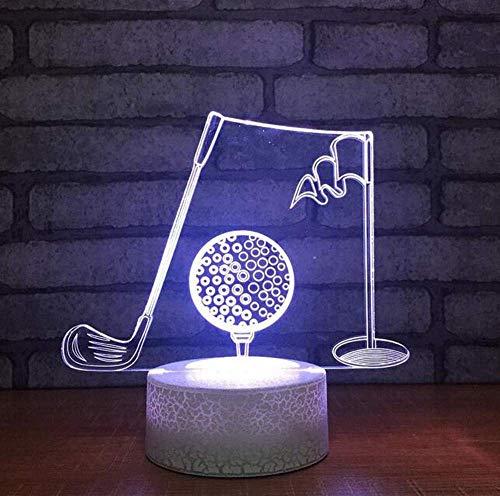 QiXian Nachtlicht Wandleuchte Led Lampe Noche 3D-Lampe Led De Bola De 7 Color Farbe Farbpatronen Farbe Farbpatronen-Deko Dekoratives Niños Regalo USB Noche Luces für Küche Schlafzimmer Wohnzimmer - Farbpatrone Farbe