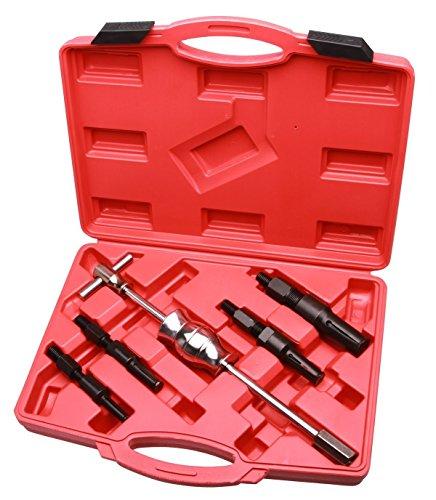 LARS360 - Herramientas de extracción de cojinetes (5 unidades: incl. 1 martillo y 4 extractores de 10 mm a 32 mm)