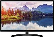 LG 31.5 inch (80 cm) LED Monitor - Full HD, IPS Panel with VGA, HDMI Port x 2, USB Port, INBUILT Speaker - 32M