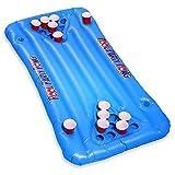 Geschenkbox Luftmatratze Bier Beer Pong Tisch Spielzeug für den Pool, 150 x 67 cm