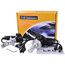 XCSOURCE® 2pcs Philips LED Chips Total 80W 16000LM H4 / 9003 Faro Kit Faros Alto 6000K Beam Bulbos Blanco LD907