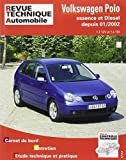 Revue Technique Automobile, CIP 683.1 : Volkswagen Polo Essence et Diesel depuis 01/2002 (1.2 12V et 1.4 TDI)