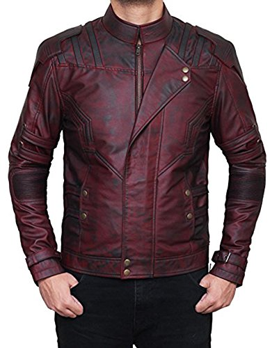 Guardians of The Galaxy 2 Star Lord Jacke - Chris Pratt Jacke (L/Chest = 42
