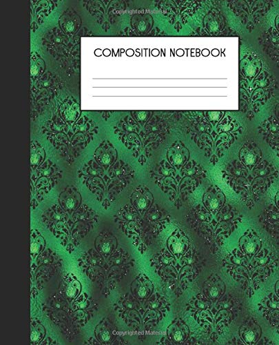 Punk School Girl (Composition Notebook: Wide Ruled Notebook | Gothic | Lined Journal | 100 Pages | 7.5 x 9.25
