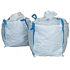 51c56MgWYKL. SS300  - Propac z-big80Saco Big Bag mediano tamaño, 80x 80x 80cm, 1000kg Capacidad