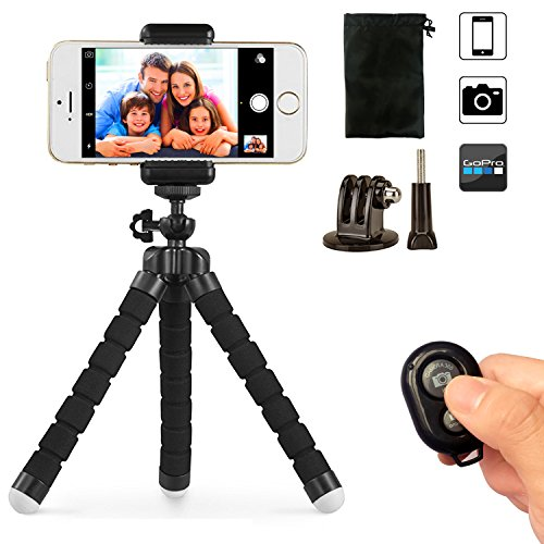 phone-tripod-ubeesize-portable-and-adjustable-camera-stand-holder-with-bluetooth-remote-and-universa