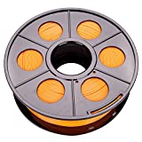 Filament, Rotolo per stampante 3D PLA | ABS 1,75 mm, 1 kg, bobina tamburo cartuccia, PLA 1,75 mm, Orange, 1