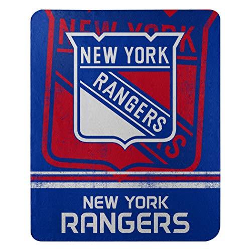 NHL Fade Away Fleece Decke 152 x 127 cm, blau
