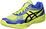 Asics Herren Volley Elite FF Volleyballschuhe, Grün (Energy Green/Directoire Blue/Black 7743), 45 EU