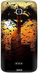 Delberto Printed Back Cover for Infocus Bingo 50 M460