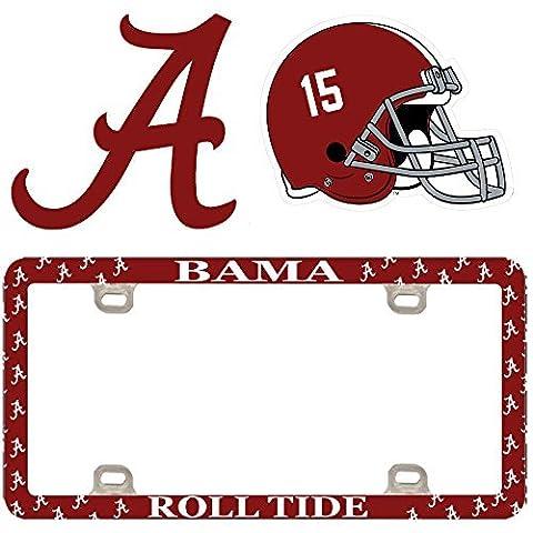 Alabama Crimson Tide College University NCAA Team Logo Auto Car