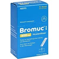 BROMUC akut 600 mg Hustenlöser Plv. z. H. e. L. z. Einn. 10 St preisvergleich bei billige-tabletten.eu