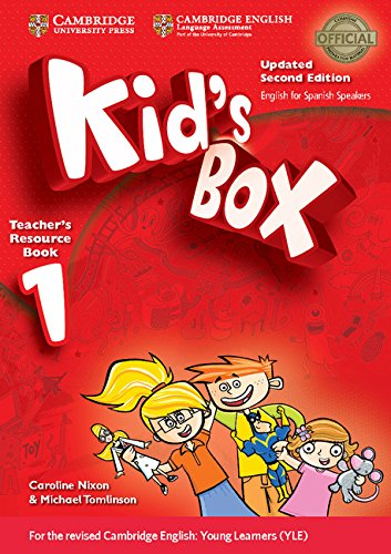 Kid's Box Level 1 Teacher's Resource Book with Audio CDs (2) ,English for Spanish Speakers, Updated Second Edition