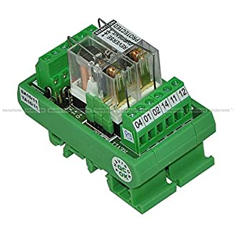 Shavison Relay Module AS362-24V-S-OE, 1C/O, 2 Channel, 24VDC Coil, OEN Relay, Reverse Blocking Diode, Socket Mounted Relay, Contact Rating : 28VDC/230VAC, 5A
