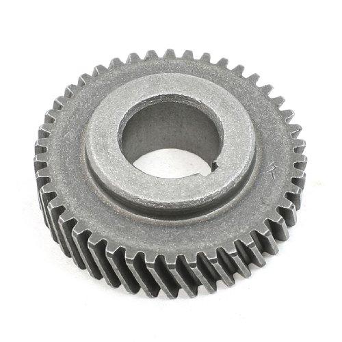 Sourcingmap - 355 millimetri parte di ricambio macchina cut-off 42 denti ruota elicoidale - Cut Parte