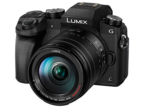 Panasonic Kamera Lumix DMC-G7, 14-140 mm, 4K
