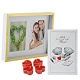 Best Gifts & Decor Friend Frame Two Pictures - Love Gift Combo for Boyfriend Girlfriend Husband Wife Review