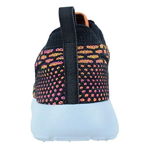 Basket Nike Roshe One Flyknit - 704927-008 Schwarz