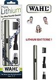 Wahl Nasenhaarschneider incl. Lithium-Ionen Batterie! Edelstahl-Schneidsystem
