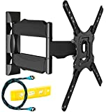 Invision® Ultra Slim Tilt Swivel TV Wall Bracket...