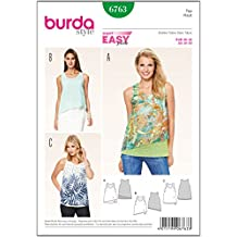 Patrón Burda 6763 Top