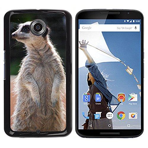 Just Cover Hot Style-Custodia rigida per cellulare, M00138797-Suricato di peluche, in piedi e di Fauna Zoo/6/LG Google Nexus