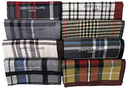 LEEVO Taschentuch Gewebte Baumwolle 100 % Taschentücher Mode 4Pack Box Set (45Cm 4Pack Box Set (1. Nr. 1)) -