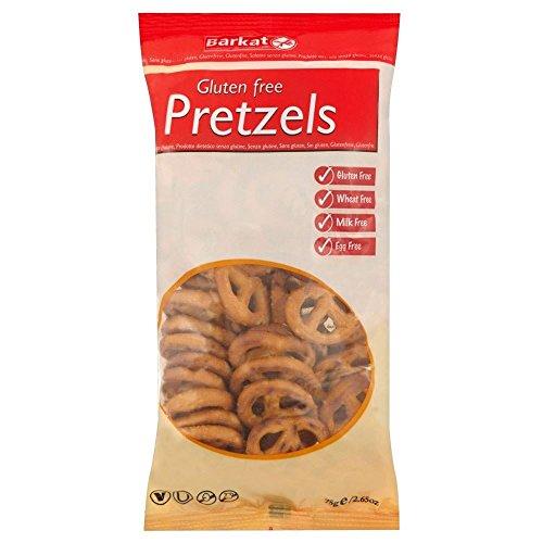 Barkat Gluten Bretzels Gratuit (75g) - Paquet de 6
