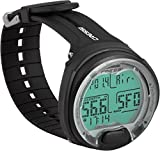 Scuba Diving computer - Cressi Leonardo - Wrist style - Air / Nitrox Modes Colour: BLACK/ BLACK