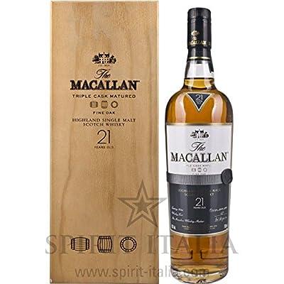 Macallan Fine Oak 21 Years Old in Holzkiste 43,00% 0.7 l.
