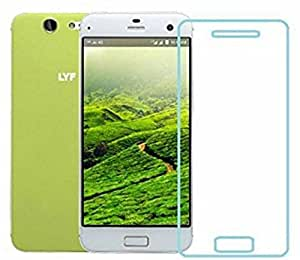 Jishaan LYF EARTH 2 Tempered Glass  Protective Hardness Nanometer Anti Explosion Tempered Glass Screen Guard Protector