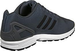 scarpe adidas zx flux donna nere e oro
