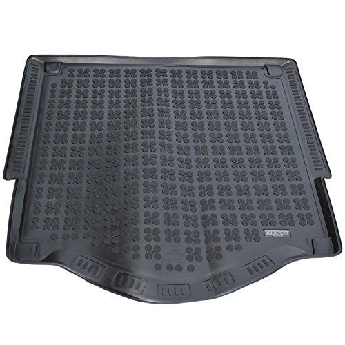 Preisvergleich Produktbild AME - Auto-Gummiwanne Kofferraum-matte aus Gummi für den Laderaum, Geruch-vermindert und Passgenau mit Schmutzrand und Anti-Rutsch Oberfläche 230449KW
