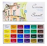 Studio Set di acquerelli Sonnet 24colori