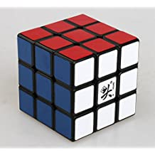 Topways® Dayan V5 zhanchi magic cube 3x3x3 magico cubo alta velocidad Professionnelle Puzzle Cubo 57mm (negro)